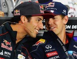 """Daniel Ricciardo recuerda su año junto a Vettel: """"Disfruté la temporada, ya que no tenía presión"""""""