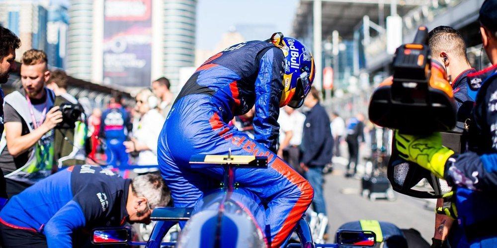 """Previa Toro Rosso - España: """"Esperamos repetir el ritmo que mostramos aquí en los test"""""""