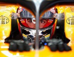 """Carlos Sainz: """"He sido muy brusco en la curva 5 y eso ha comprometido mi vuelta"""""""