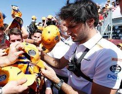 """Carlos Sainz: """"Hemos logrado un buen resultado, pero la carrera no ha sido fácil para nosotros"""""""
