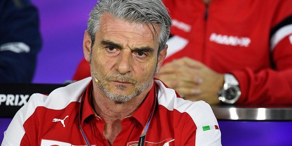 """Maurizio Arrivabene: """"Hay que apoyar más que nunca a Ferrari; el Mundial es muy largo"""""""