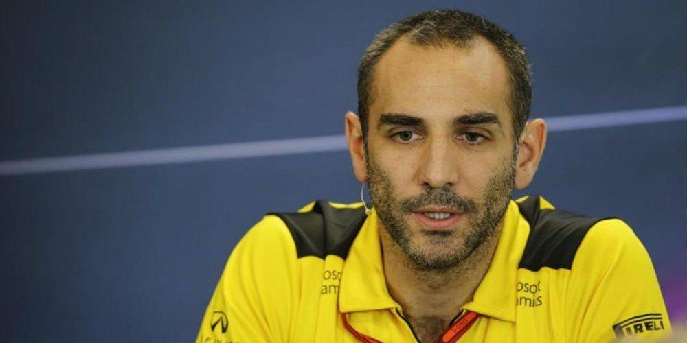 Cyril Abiteboul asegura que el objetivo de Renault sigue siendo liderar la zona media