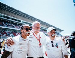 """Lewis Hamilton: """"Las carreras han sido muy fuertes en cuanto a rendimiento"""""""