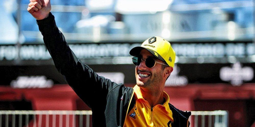 """Daniel Ricciardo: """"Veo que están tratando de evolucionar como un equipo y eso es genial"""""""