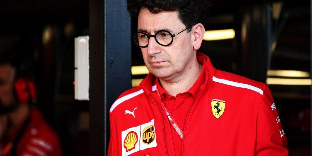 """Mattia Binotto: """"Las limitaciones de España ya estaban presentes en las primeras carreras"""""""