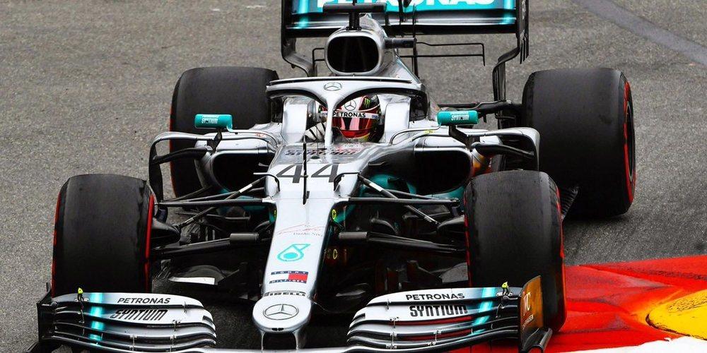 Se confirma que los Mercedes de Hamilton y Bottas son los rivales a batir después de los Libres 2