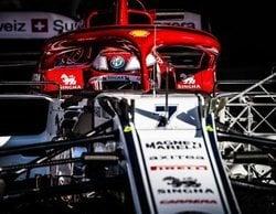 """Kimi Räikkönen: """"No estoy descontento con las sesiones de hoy, pero tenemos trabajo por delante"""""""