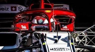 """Kimi Räikkönen: """"No estoy descontento con las sesiones de hoy, pero tenemos trabajo"""""""