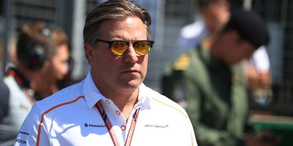 "Zak Brown: ""Nos gustaría volver con Alonso a las 500 Millas"""