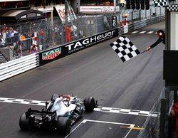 Lewis Hamilton logra una merecida victoria y se la dedica a Niki Lauda en el GP de Mónaco