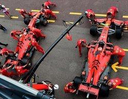 "Sebastian Vettel: ""Tener dos pilotos que exprimen el coche es una buena situación para Ferrari"""