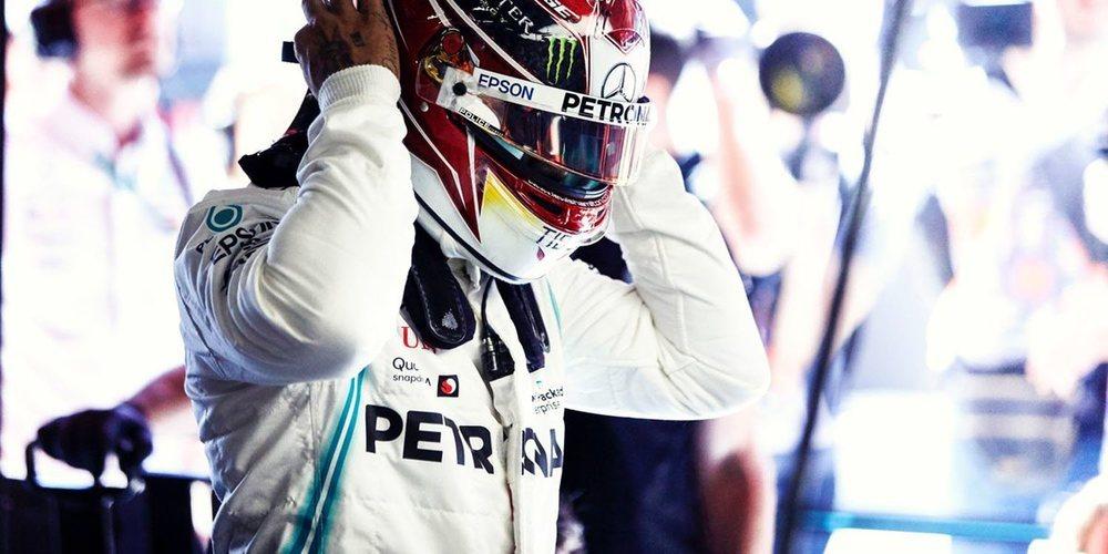 """Lewis Hamilton: """"Estoy emocionado porque Ferrari y Red Bull serán fuertes este fin de semana"""""""