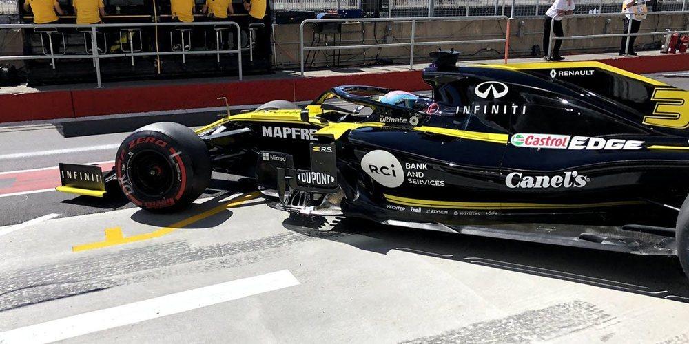 """Daniel Ricciardo: """"En general, el día fue positivo; estamos cerca de donde queríamos estar"""""""