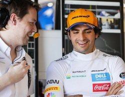 """Carlos Sainz: """"Es un día muy alentador, pero solo son entrenamientos"""""""