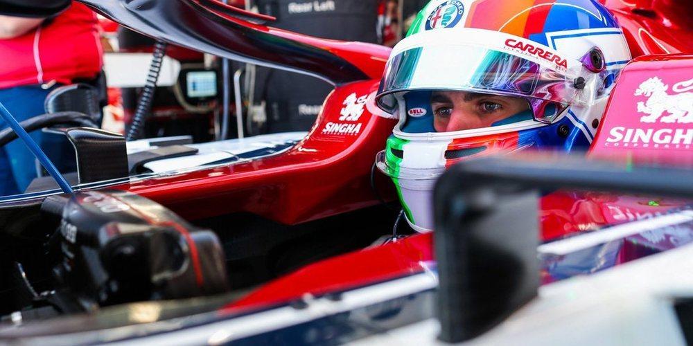 """Antonio Giovinazzi: """"Estamos en una buena posición, pero la carrera será larga y difícil"""""""