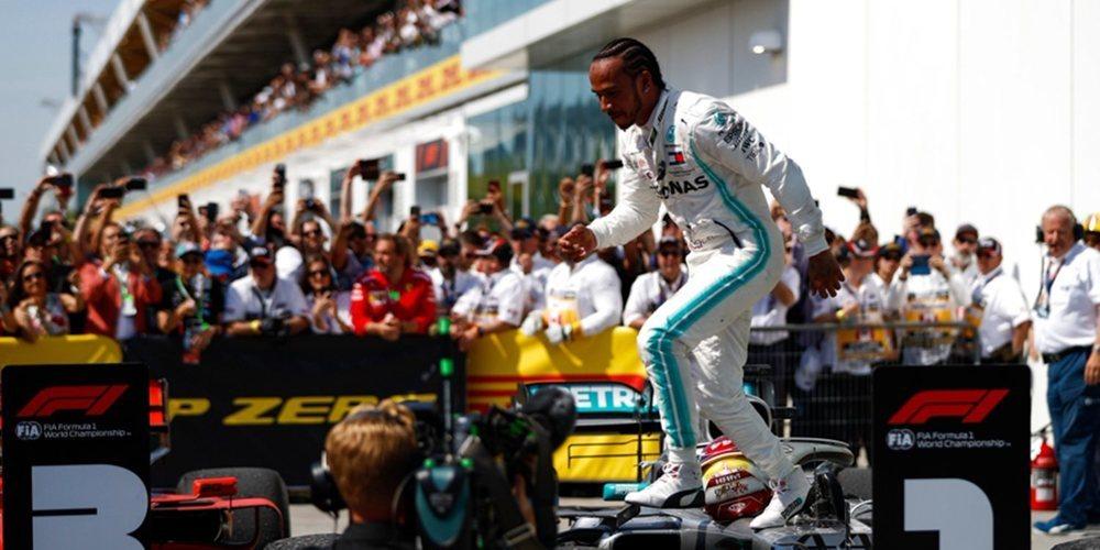"""Lewis Hamilton: """"No es una gran sensación ganar como lo he hecho hoy"""""""
