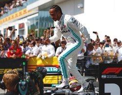 """Lewis Hamilton opina sobre la maniobra de Vettel: """"Probablemente hubiera hecho lo mismo"""""""