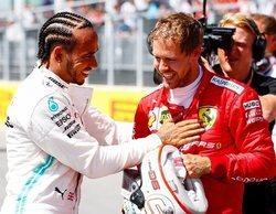 """Lewis Hamilton: """"Ferrari tiene un modo de potencia que nosotros no tenemos"""""""