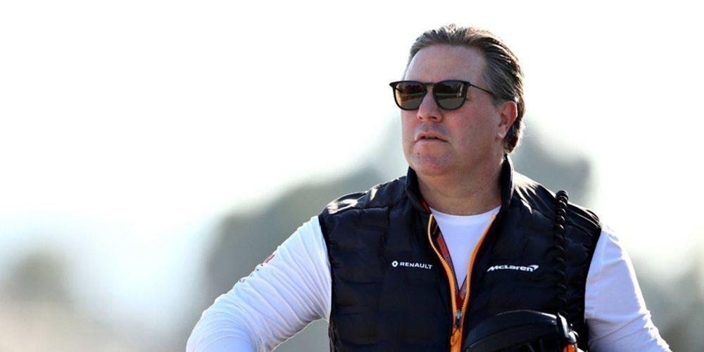 """Zak Brown: """"A día de hoy no hay asientos disponibles en McLaren"""""""