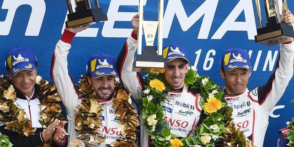 """Fernando Alonso: """"Conseguir el título en Le Mans me deja sin palabras"""""""
