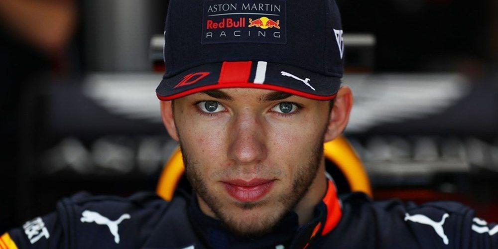 """Pierre Gasly: """"Es bueno tener a Verstappen como referencia dentro del equipo"""""""