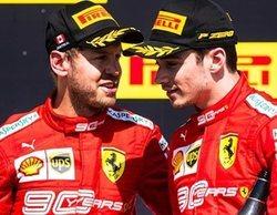 Leclerc admite que Vettel ha cometido menos errores que él en el primer tercio de temporada