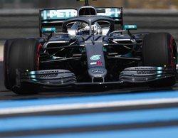 Los Mercedes concluyen líderes en ambas sesiones de entrenamientos del GP de Francia