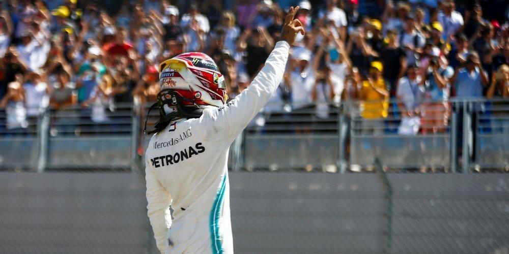 "Lewis Hamilton: ""Mañana será otro día caluroso, así que los neumáticos supondrán un desafío"""