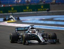 Lewis Hamilton se alza con el triunfo después de una brillante actuación de principio a fin en Francia
