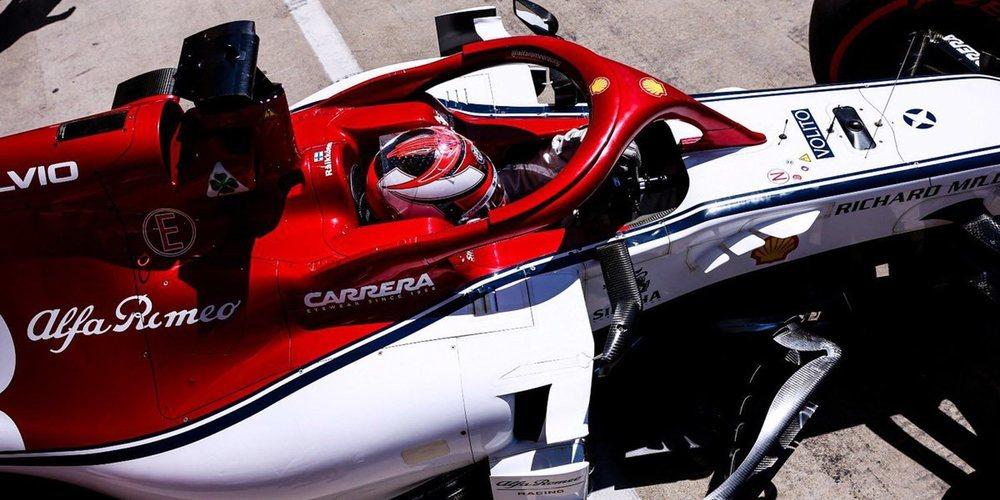 """Kimi Räikkönen: """"Tenemos trabajo que hacer para mejorar el coche de cara a la clasificación"""""""