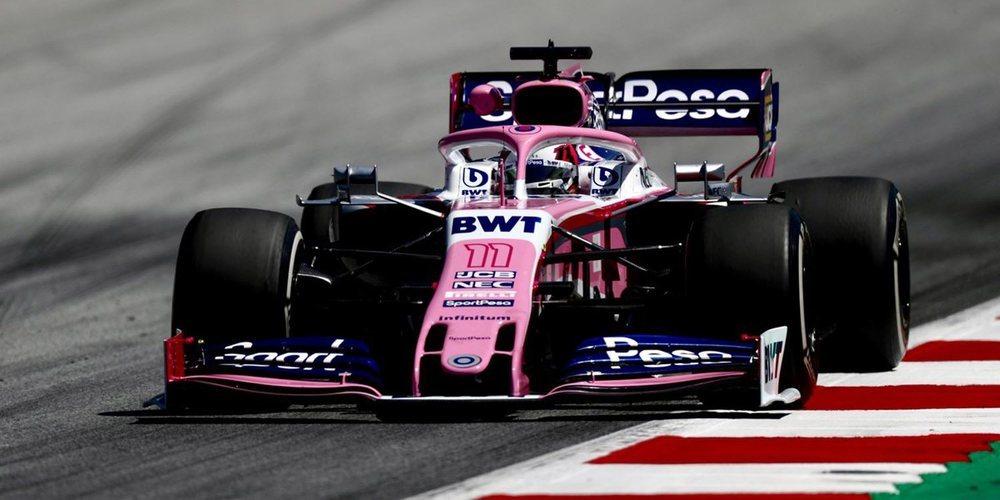 """Sergio Pérez: """"Es decepcionante porque no hemos tenido una vuelta limpia en clasificación"""""""
