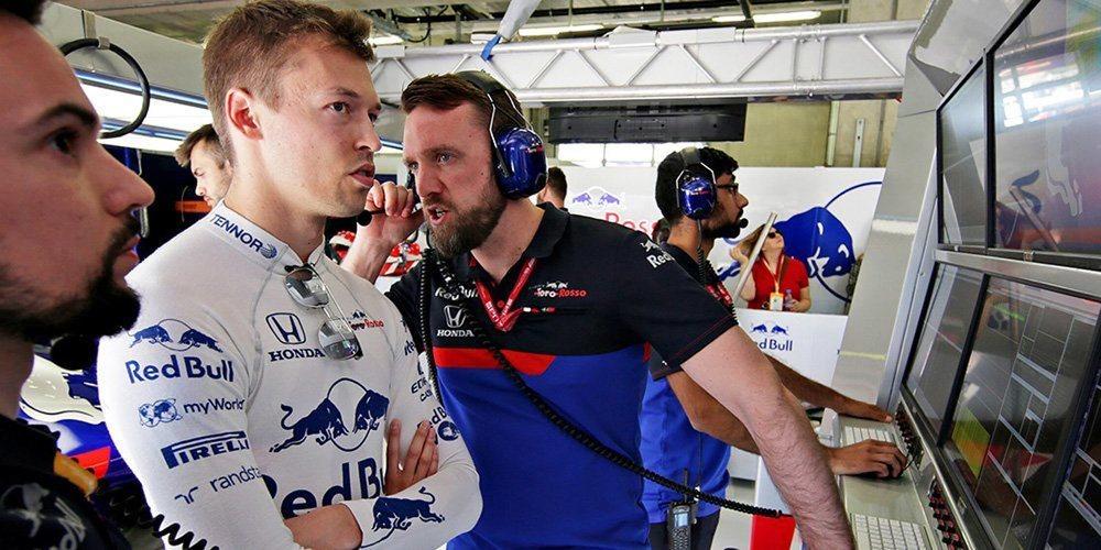 """Daniil Kvyat: """"Nuestra clasificación se arruinó porque nos bloquearon en la penúltima curva"""""""