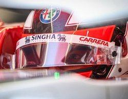 """Kimi Räikkönen: """"Estamos contentos con el resultado; comenzamos desde una buena posición"""""""