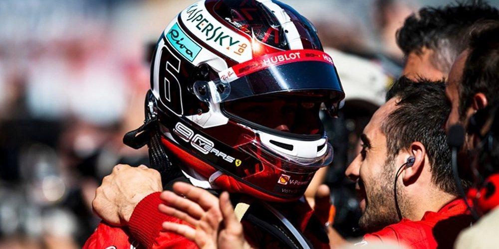 """Binotto: """"La próxima carrera dará a Leclerc el impulso y la motivación para buscar la victoria"""""""