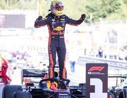 Masashi Yamamoto, agradecido con Verstappen por señalar el logo de Honda en el podio