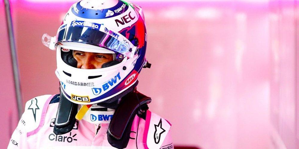 Sergio Pérez asegura que Racing Point dará un salto cualitativo a partir del GP de Alemania