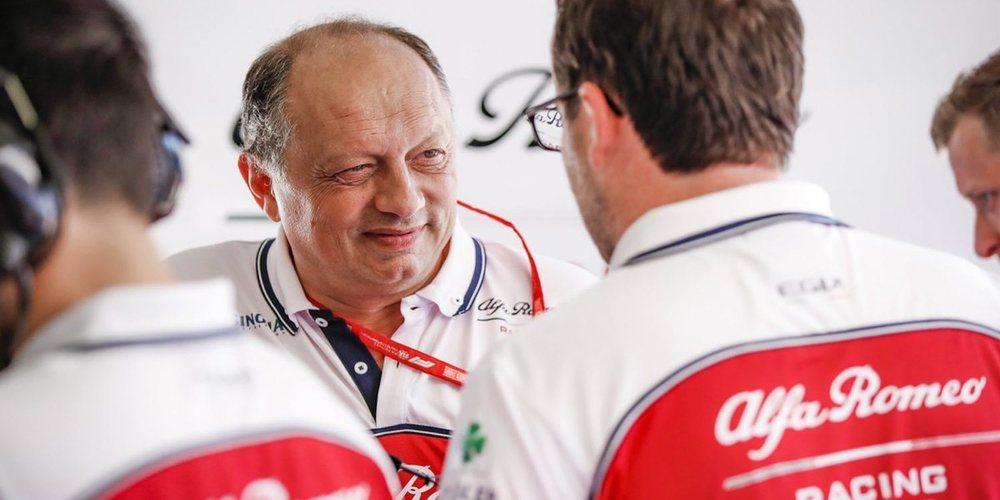"""Frédéric Vasseur: """"Hemos dado un buen paso adelante en las últimas carreras"""""""