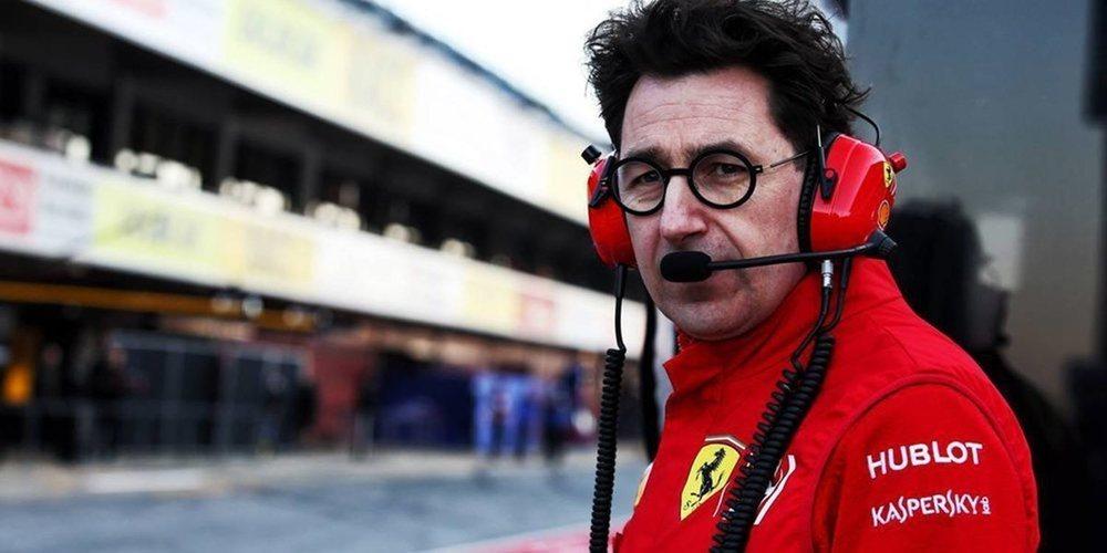 Mattia Binotto lamenta que Pirelli no haya regresado a los neumáticos de 2018