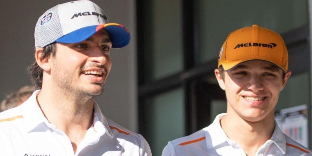 OFICIAL: McLaren anuncia que Carlos Sainz y Lando Norris serán su alineación para 2020