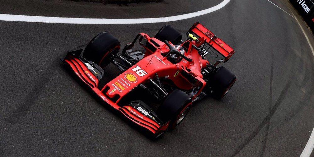 """Charles Leclerc: """"Nuestros rivales están fuertes, pero daremos todo para ser competitivos"""""""