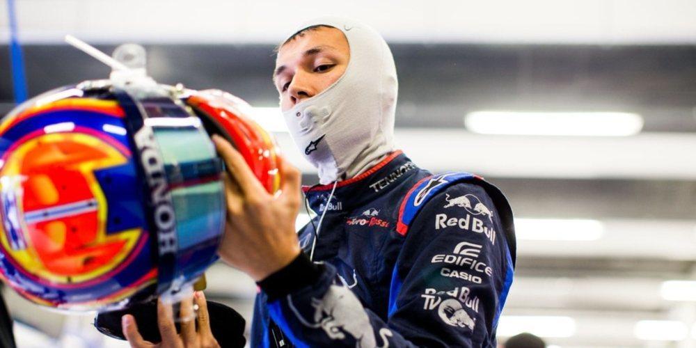 """Alexander Albon: """"Después de un par de carreras difíciles, es realmente bueno volver a la Q3"""""""