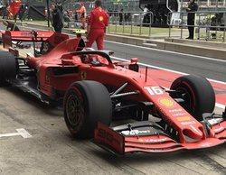 Los Ferrari de Leclerc y Vettel finalizan líderes en los Libres 3 del GP de Gran Bretaña