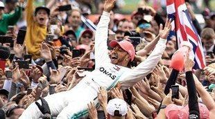 """Lewis Hamilton: """"Estoy agradecido a todos los que me ayudaron a lograr esta victoria"""""""