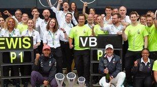 """Bottas: """"Si no tuviera a Hamilton de compañero, tal vez hubiese ganado más carreras"""""""