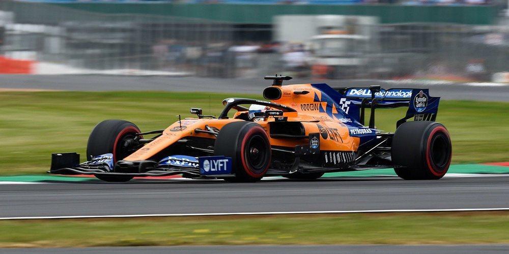 """Carlos Sainz: """"Pilotar con McLaren en Silverstone fue una experiencia que nunca olvidaré"""""""
