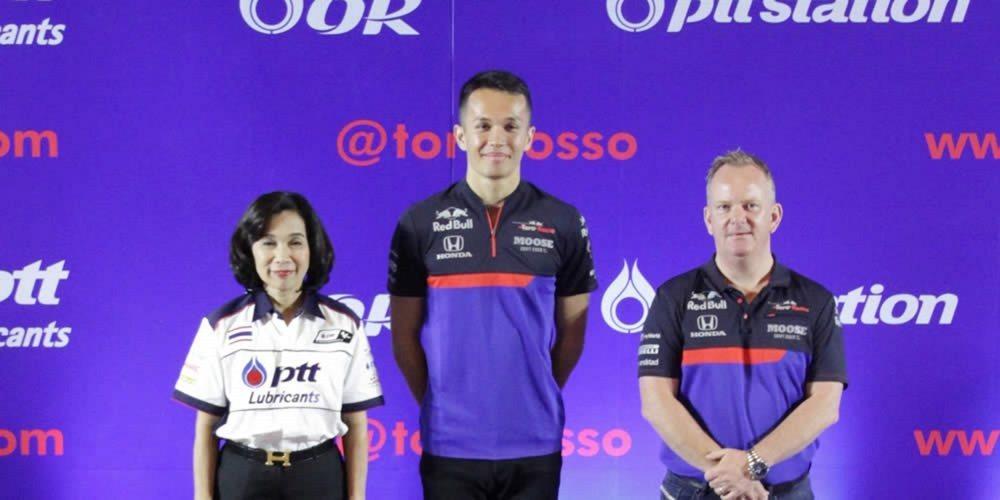 Toro Rosso da la bienvenida a un nuevo patrocinador tailandés, PTT Lubricants