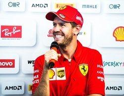 Sebastian Vettel marca el mejor tiempo en los Libres 1 del GP de Alemania