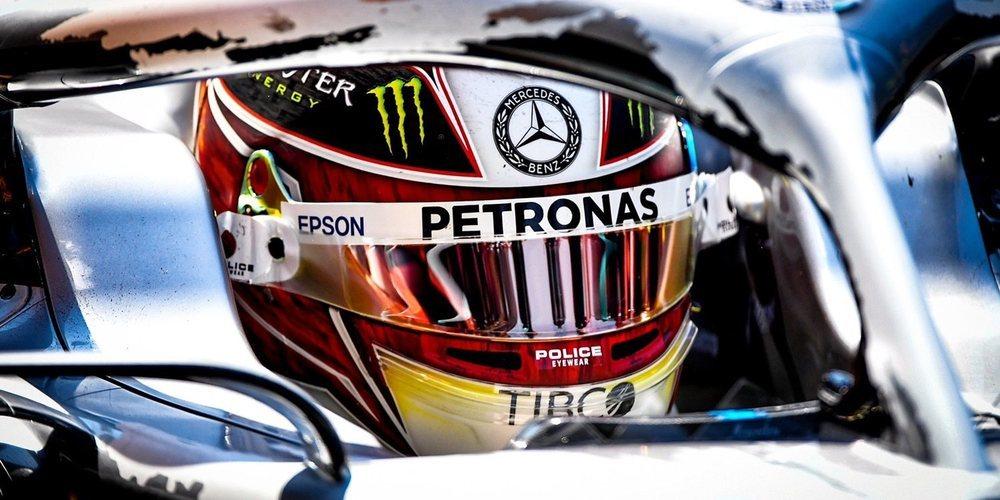 """Lewis Hamilton: """"Esperamos que el tiempo no sea así el resto del fin de semana"""""""