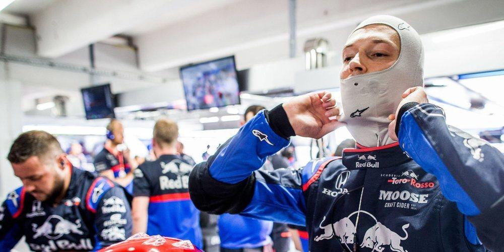 """Daniil Kvyat: """"Solo necesitamos entender lo que necesitamos para ir más rápido"""""""
