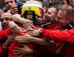 """Sebastian Vettel: """"En este tipo de carreras no puedes contar con nada hasta las últimas dos vueltas"""""""